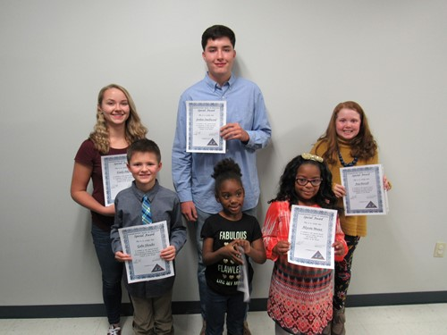 Students of the Month, November 2017