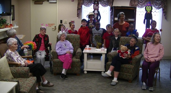 Visits with Allegro Senior Living
