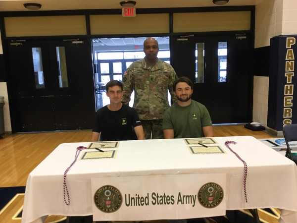 Proudly going into the US Army