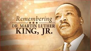 Dr. MLK Jr. Holiday - Monday, January 15, 2018