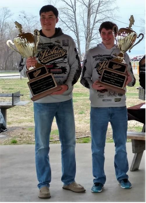 "Jordan Smallwood and Tyler Ohler Win Fishing University's ""Make Me A Star High School Team Challenge"""