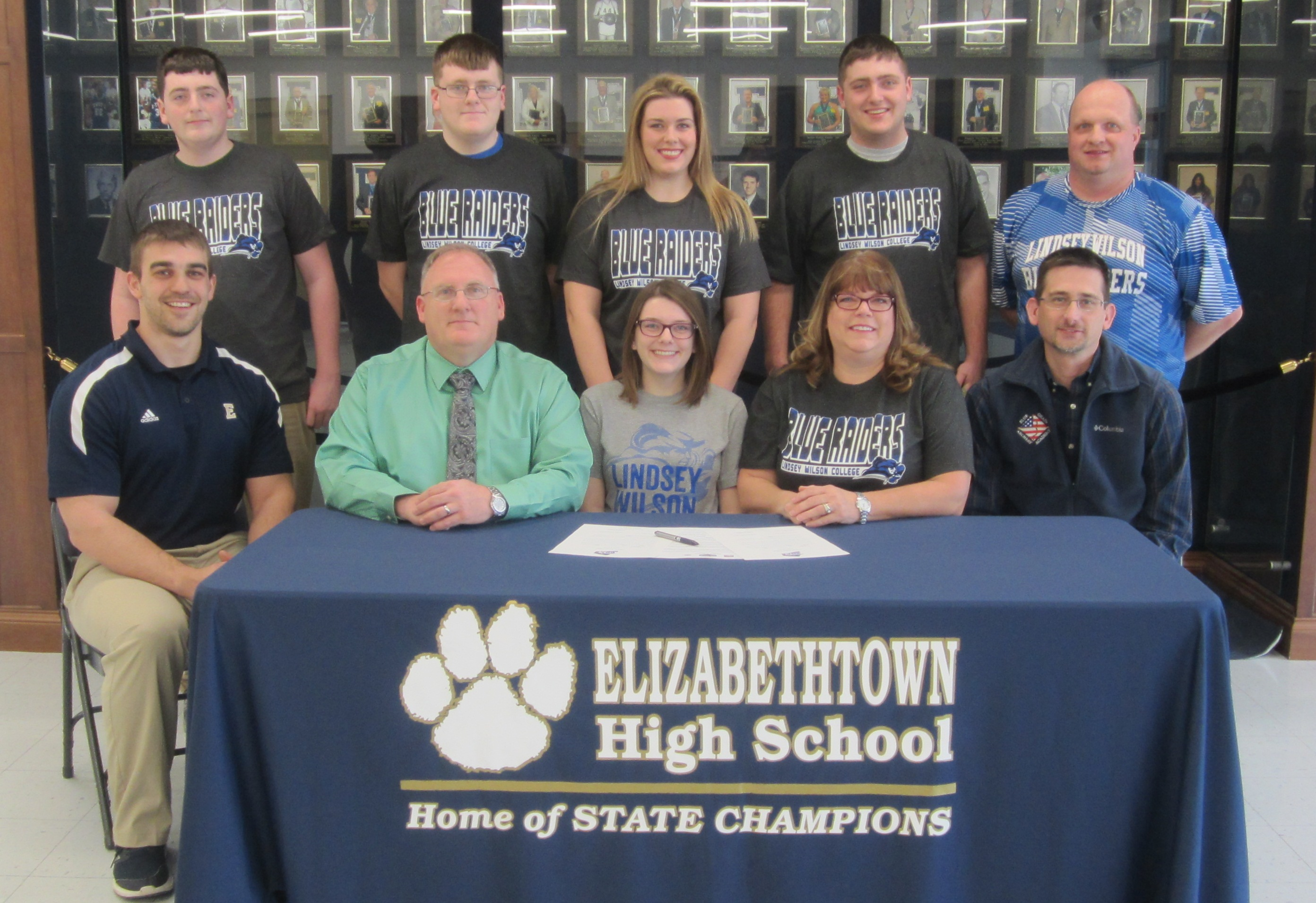 Olivia Harner has committed to the Archery program at Lindsey Wilson College.