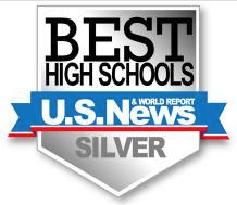 Elizabethtown High School awarded U.S. News Silver Medal.