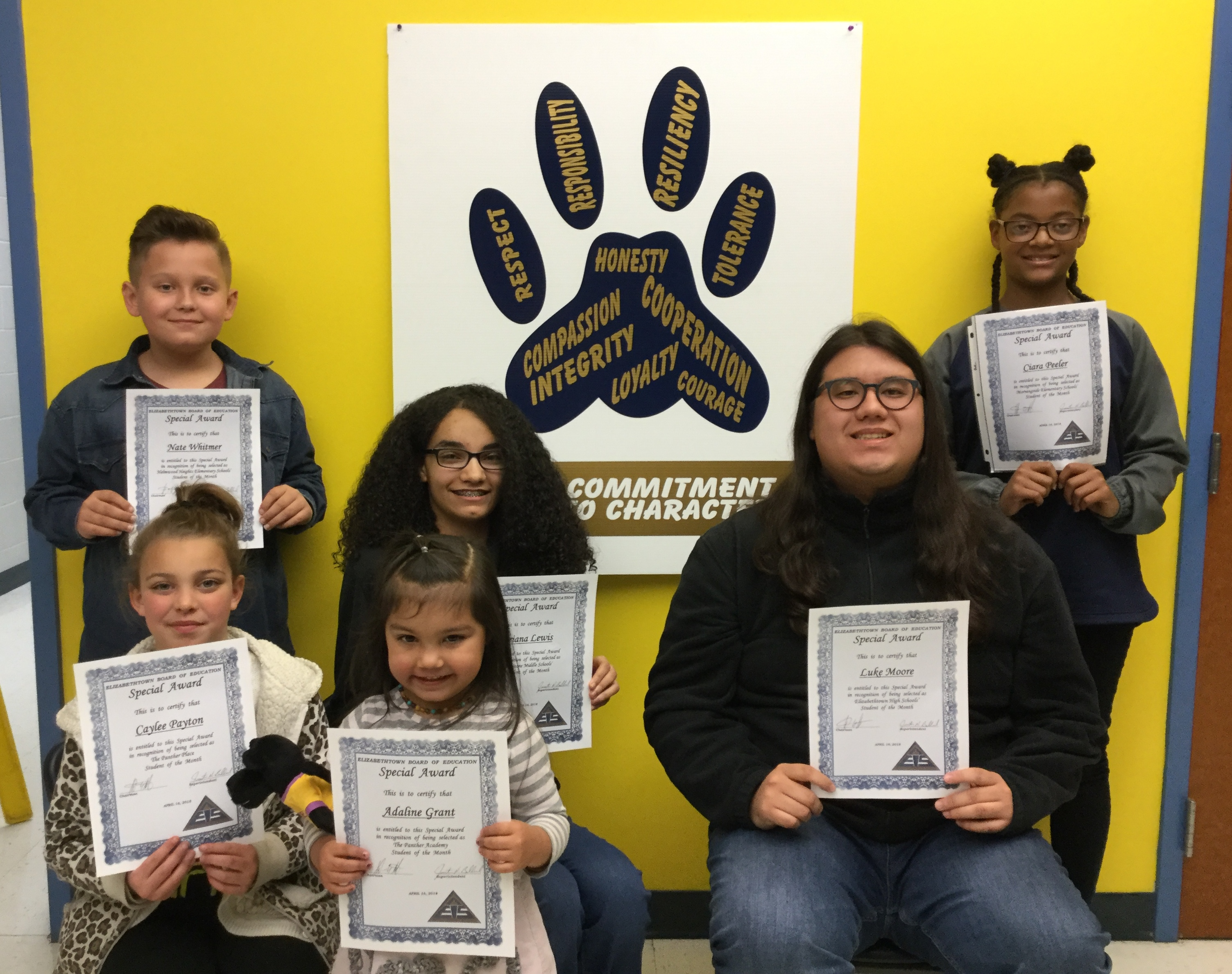 EIS Students of the Month-April